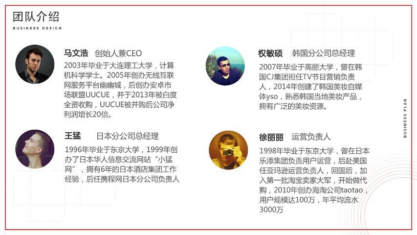 [波羅波羅蜜]直播海淘代購電商平臺生活服務商業計劃書模板范文-undefined